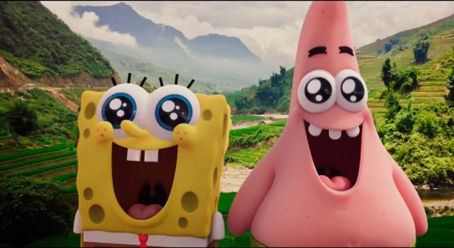Spongebob and Patrick on a sugar rush Spongebob