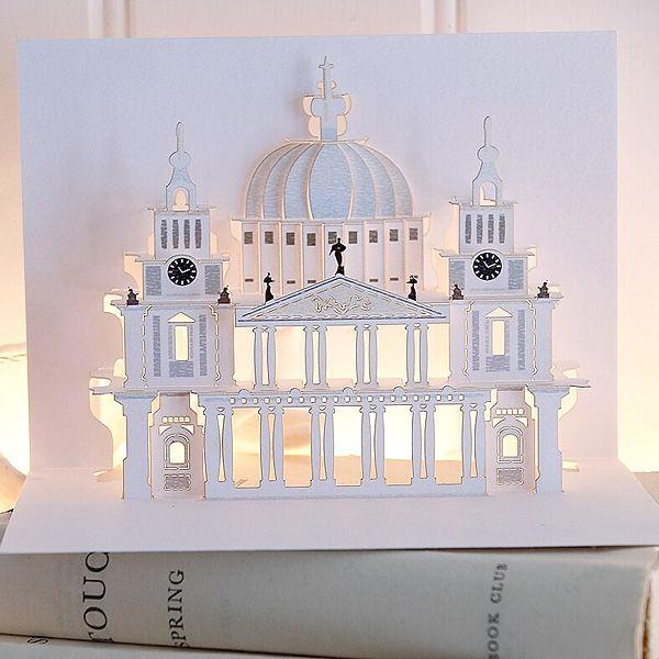 Pin By Monika Brandrup On Stationery Pop Up London Paper Cutout Art Paper Pop