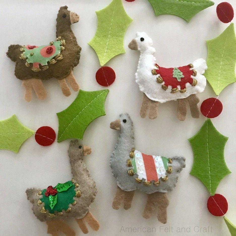 38++ Diy felt christmas ornaments inspirations