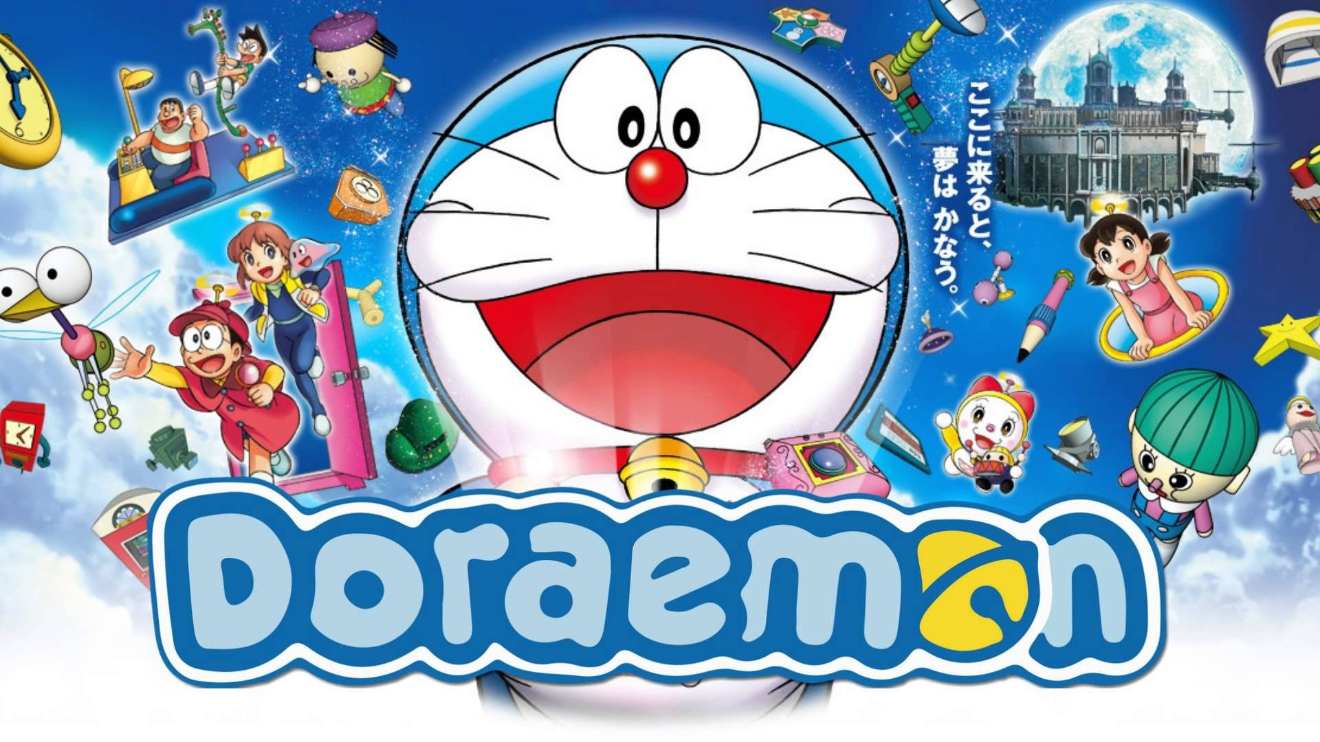 Doraemon Wallpapers Backgrounds 4kwallpaper throughout