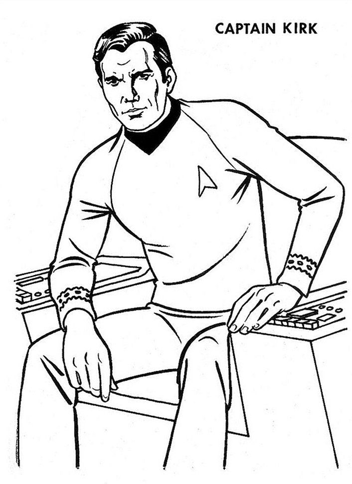 Star Trek Coloring Pages - Coloring Home | 970x706