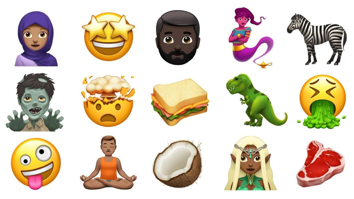 Apple Shows Off Some Of The New Emoji Coming To Ios And Macos Later This Year World Emoji Day Emoji New Emojis