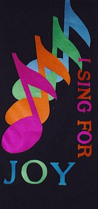 Church worship banner coro pinterest notas musicales - Artigianato per cristiani ...