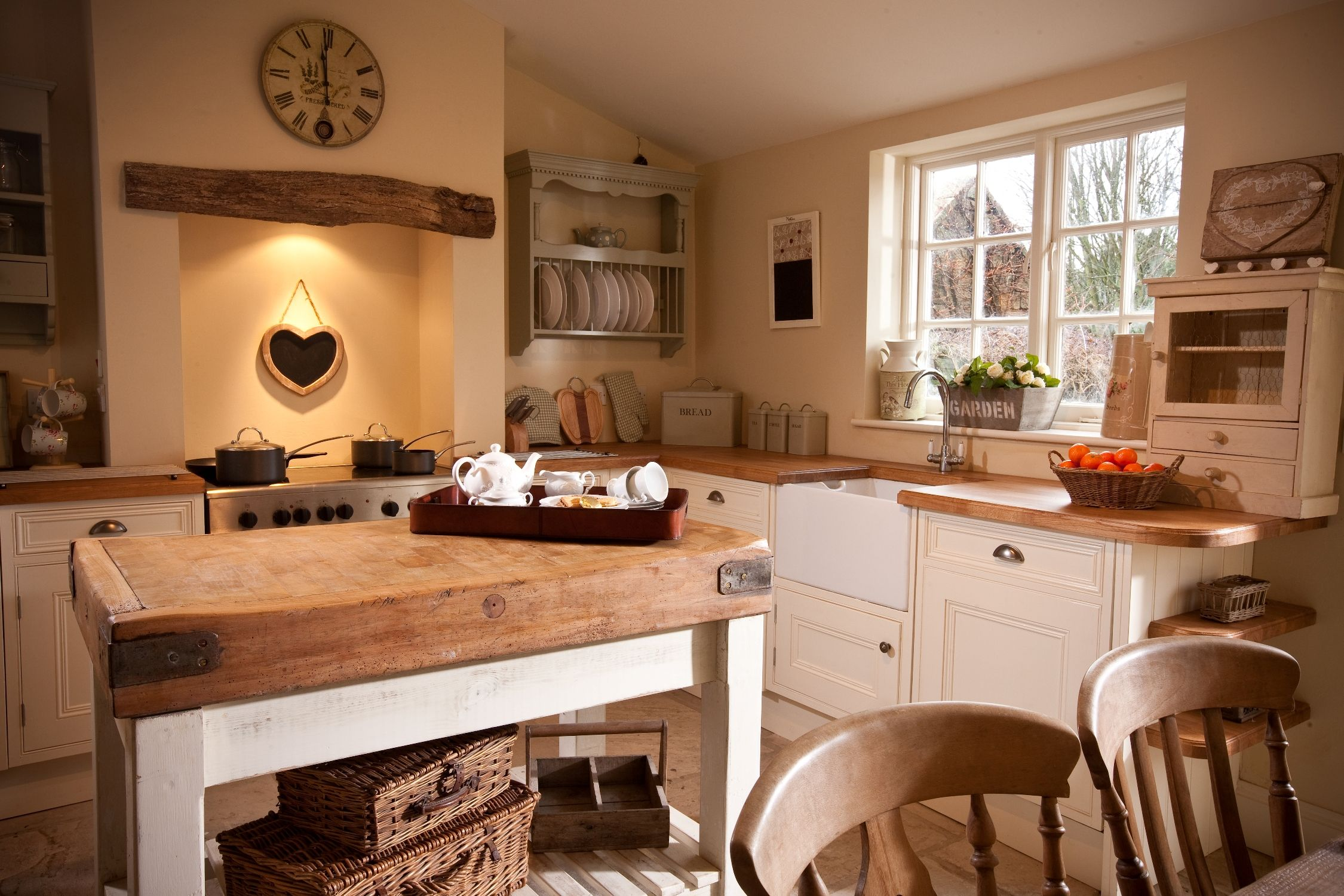 55 Cozy Country Kitchen Ideas Cute766