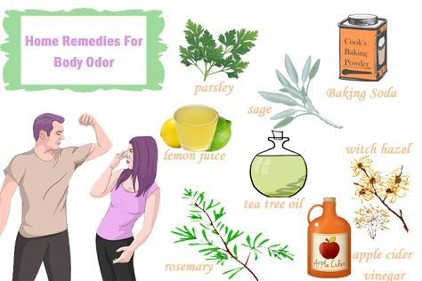 How to get rid of body odor home remedies