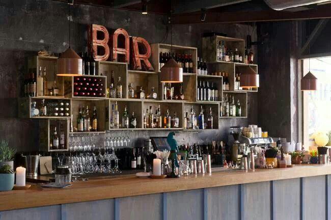 Estanter as originales para un bar bares decoideas en 2019 blog de decora o caf y decora o - Estanterias para bares ...