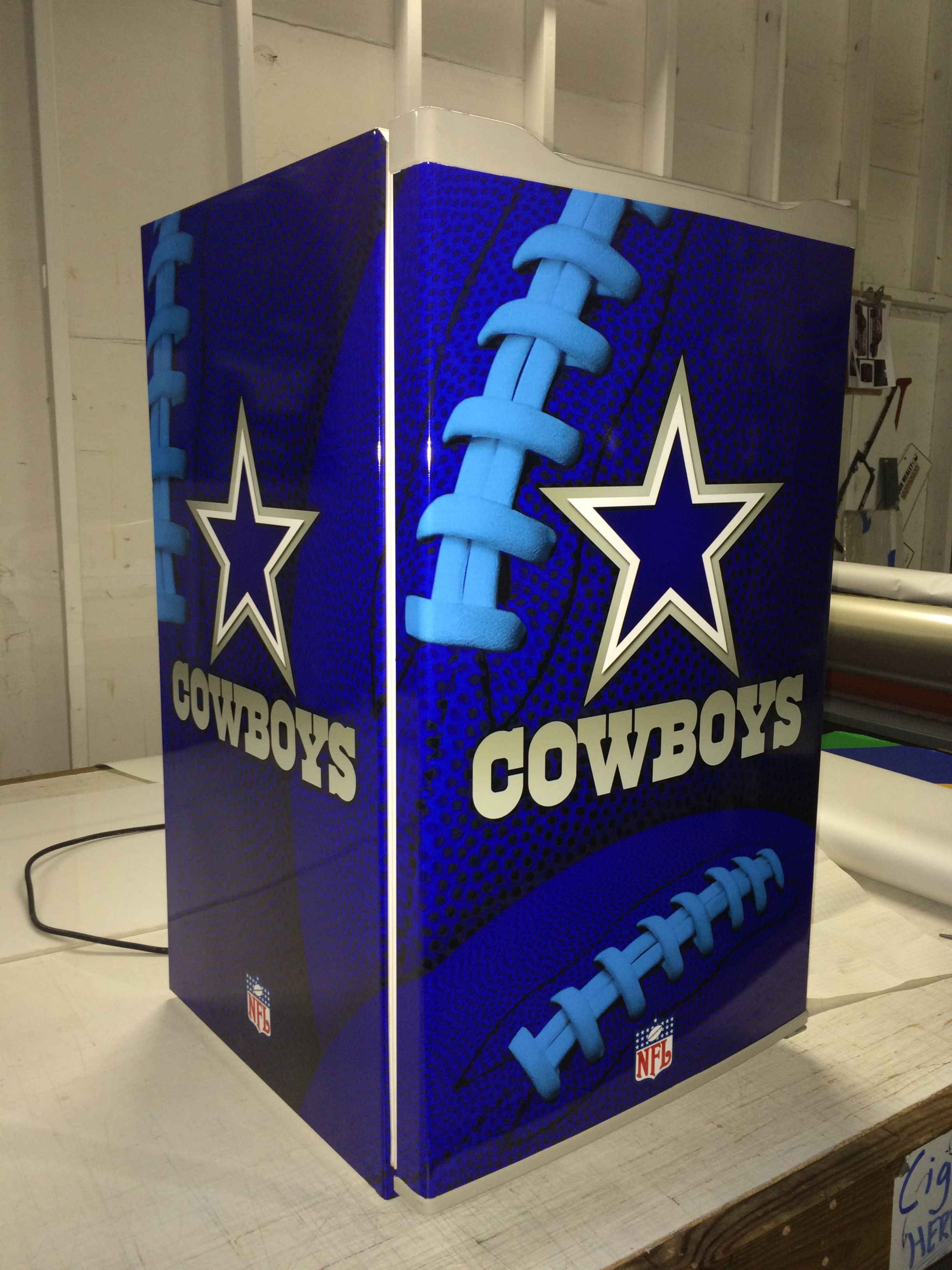 Custom Cowboys Mini Fridge Wrap Coolers Amp Fridges Mini