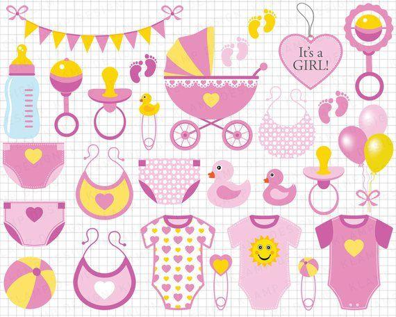 20c923de851 Baby Girl Clipart