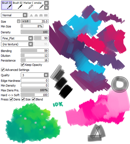Pin by Kyrwaii on Art reference in 2019 | Firealpaca brushes, Sai