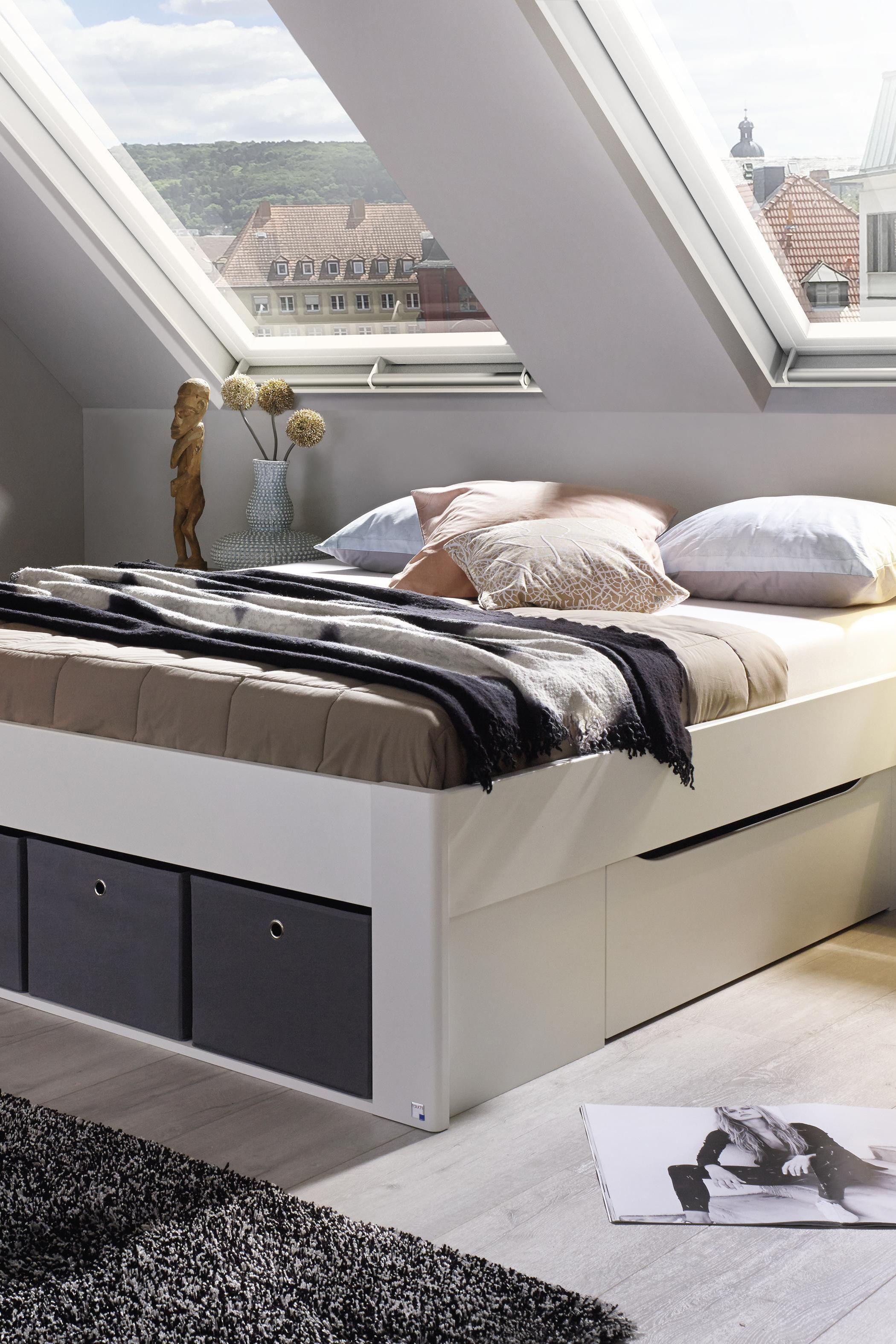 Bett Mit Extra Stauraum Ideal Fur Kleine Raume Rauchmobel