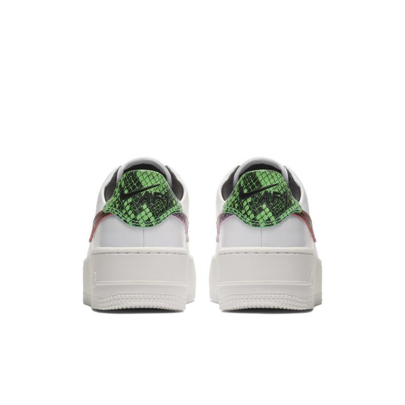 purchase cheap 3fabe 06a45 Nike Air Force 1 Sage Low Premium Animal Women s Shoe - White