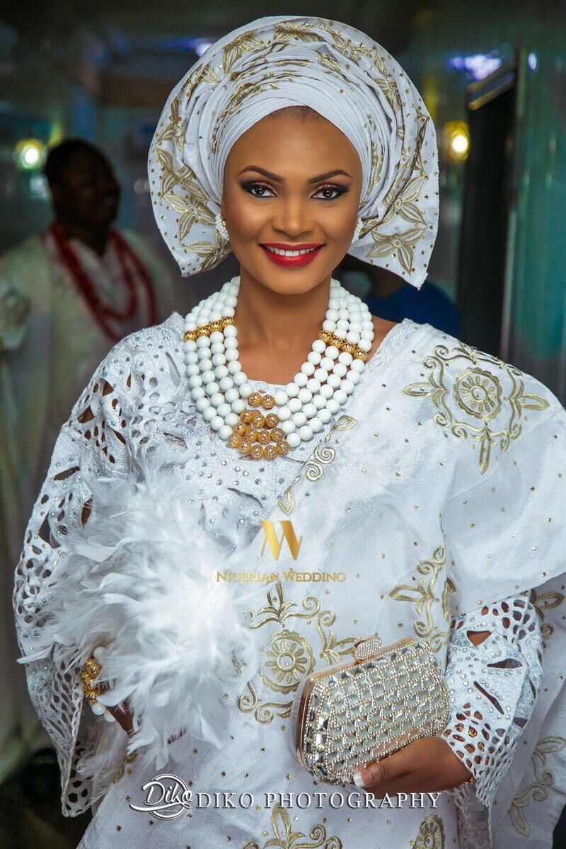 Dami and taofeeq looked absolutely flawless at their combined yoruba