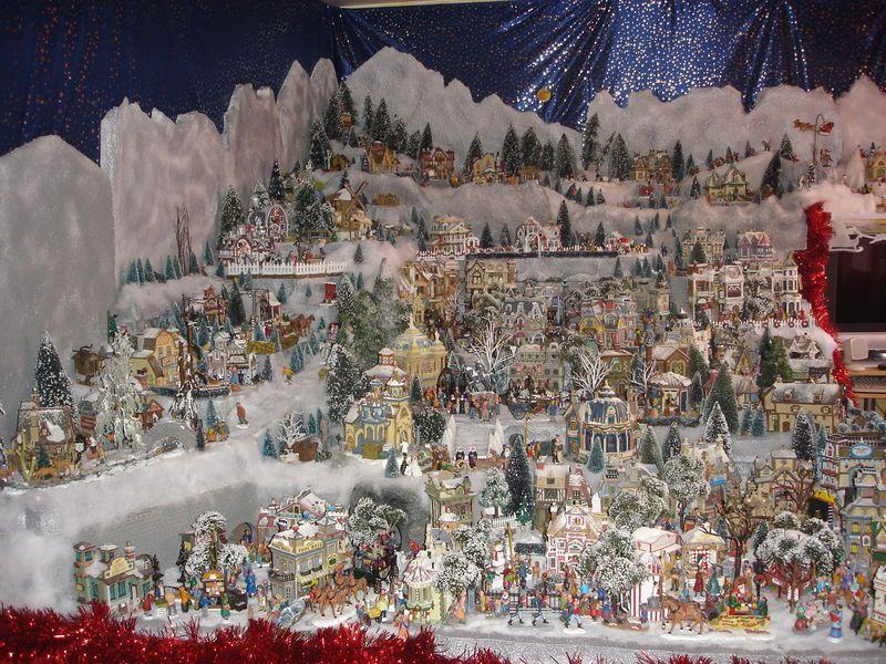 Village de noel images recherche google village de noel pinterest noel and christmas - Decoration pour village de noel ...
