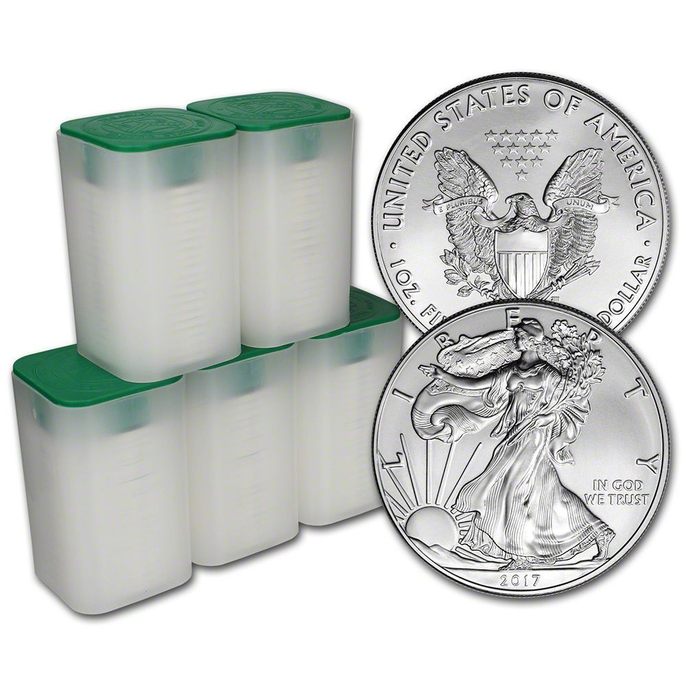 #New post #2017 American Silver Eagle (1 oz) $1 - 5 Rolls - 100 BU Coins in 5 Mint Tubes  http://i.ebayimg.com/images/g/97kAAOSwImRYgD2g/s-l1600.jpg      Item specifics    									 			Composition:   												Silver  									 			Mint Location:   												West Point    									 			Circulated/Uncirculated:   												Uncirculated  									 			Year:   												2017    									 			Strike Type:   												Business  									... https://www.shopnet.one/2017-ameri