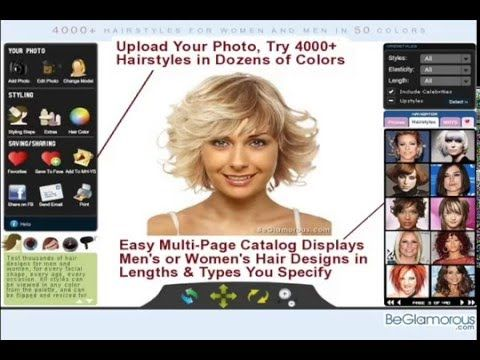 Virtual Hairstyles Captivating Try On Virtual Hairstyles  Upload Your Photo  Change Hair Color