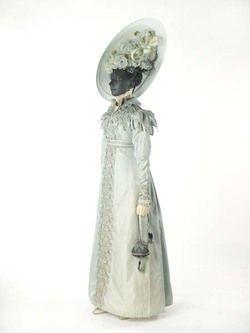 Pelisse (image 2) | 1823 | silk | Museum of London | Item #: 59.58/3