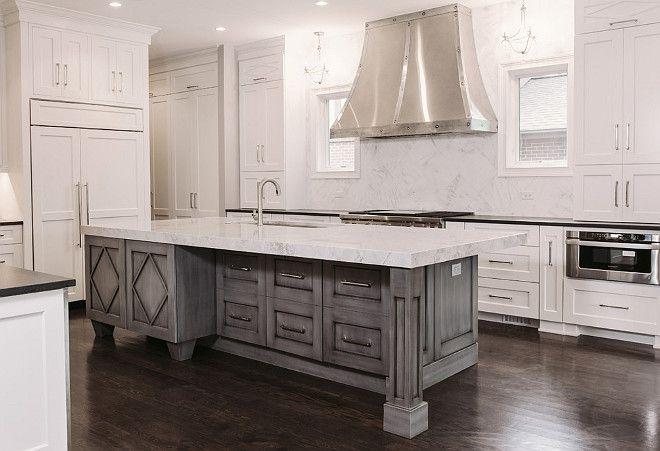 Best Graywash Kitchen Island Google Search Grey Kitchen 400 x 300