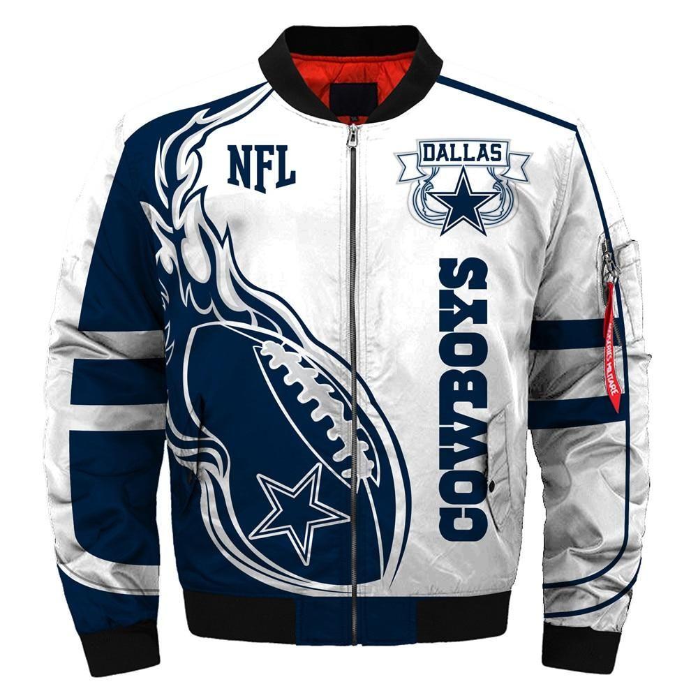 Newest design 2019 nfl bomber jacket custom mens dallas