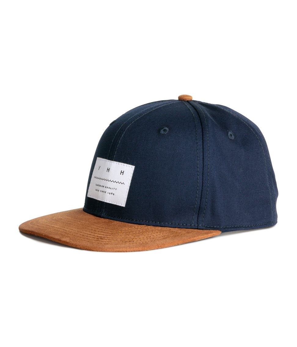 2208d3eff1e6e Cotton cap | H&M For Men | H&M MAN | H&m fashion, H m outfits ...