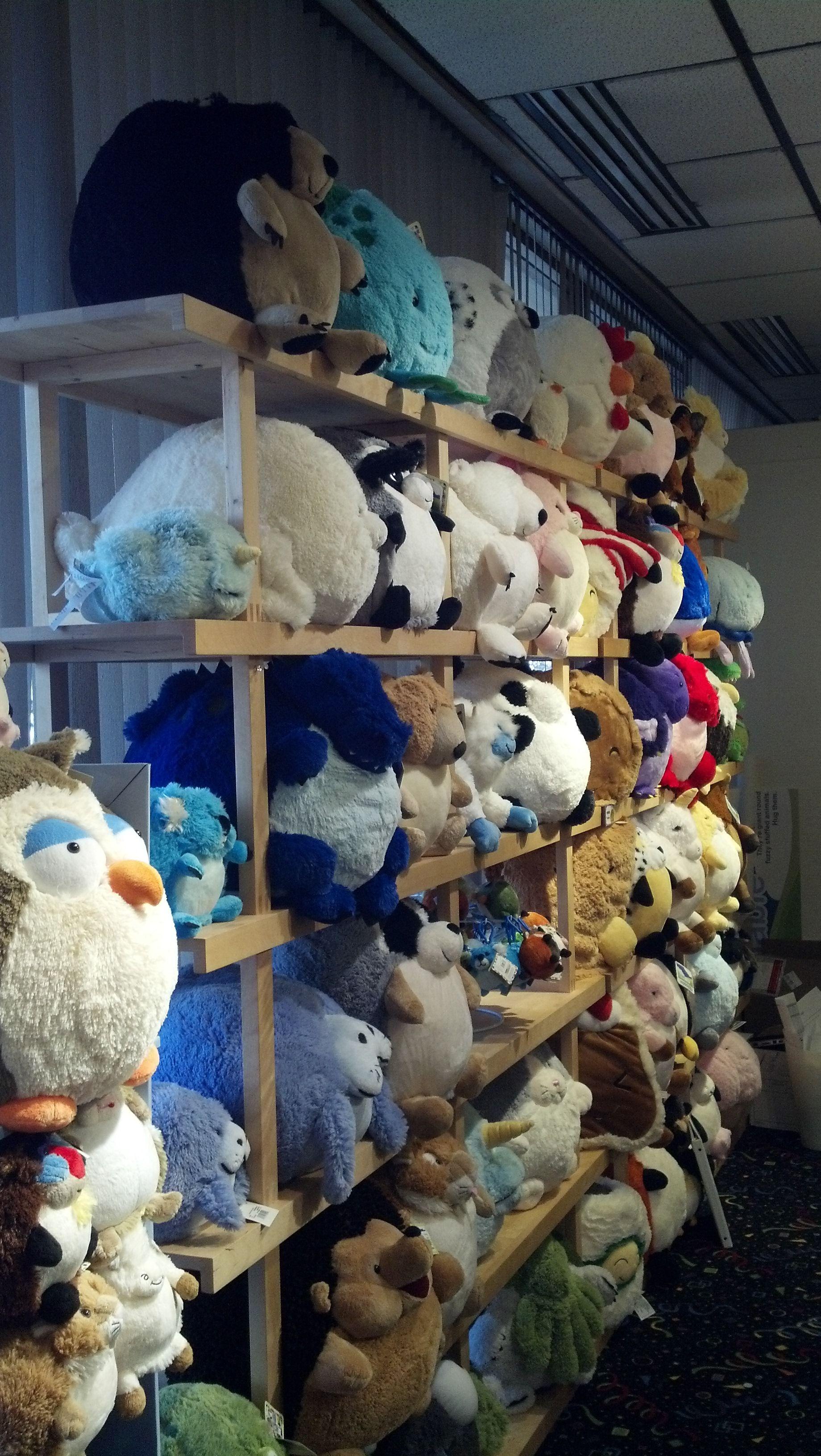 Squishable They Re Giant Round Fuzzy Stuffed Animals Hug Them Kawaii Plush Plush Plushies [ 3264 x 1840 Pixel ]