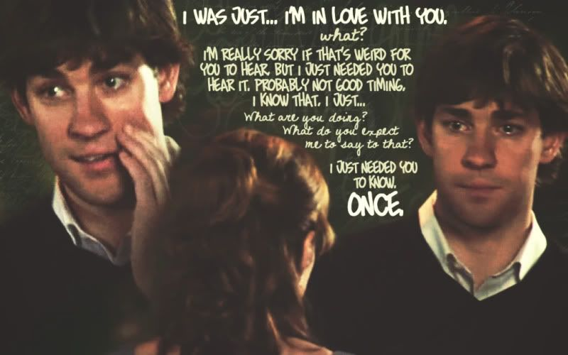 Jim To Pam I Love You