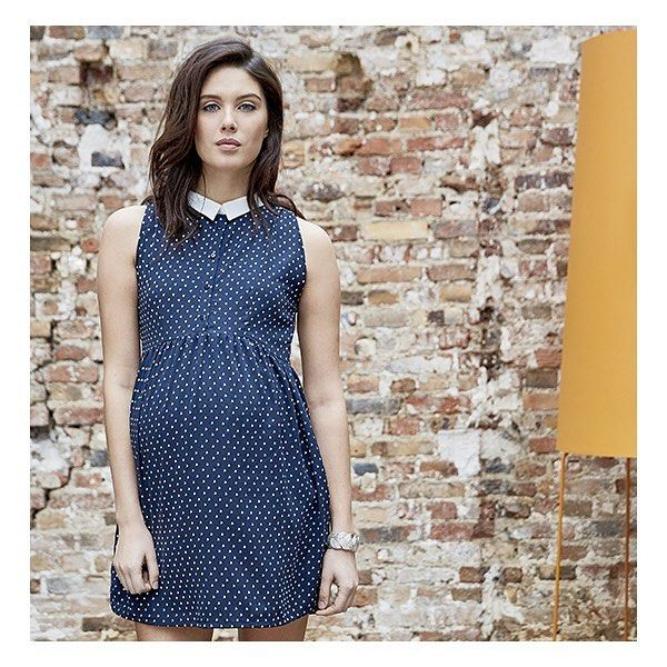 Have you met Elia, our perfect preppy dress? ❤️ #MaternityStyle #Maternity #Fashion #BumpStyle #MumtoBe #BabyBump #EnviedeFraise #SS16