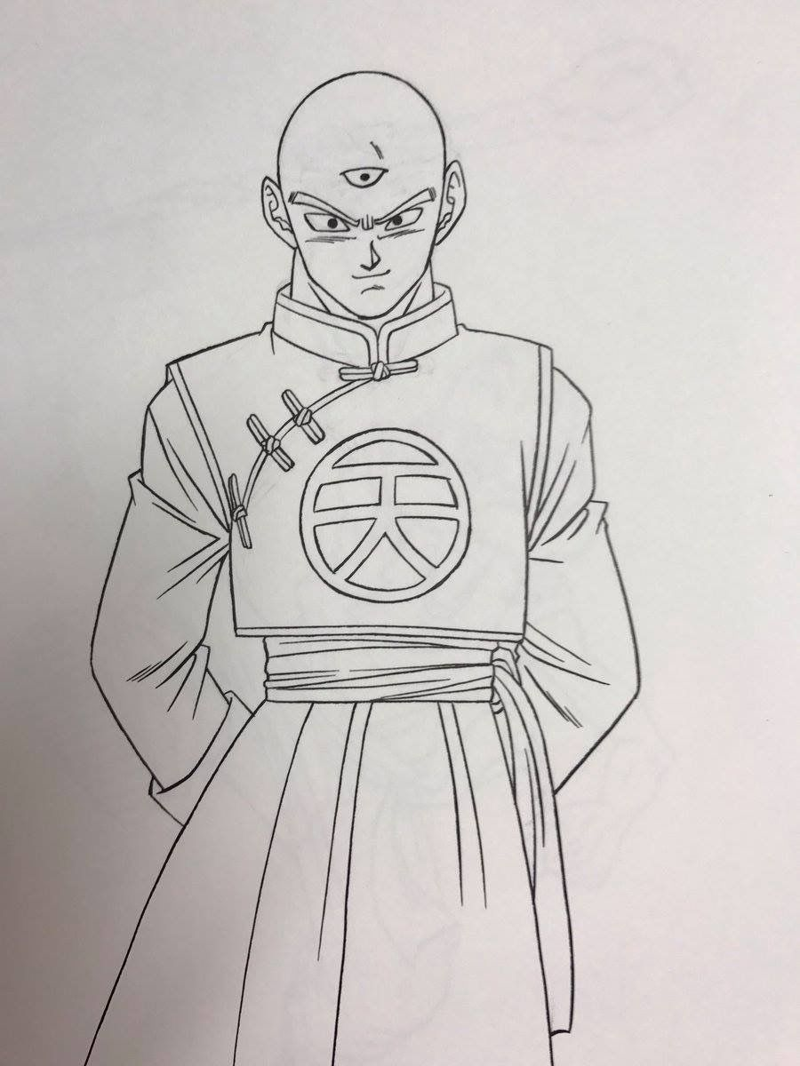Tenshinhan by toyotaro anime dbz drawings dragon ball - Imagenes de dragon ball super descargar ...