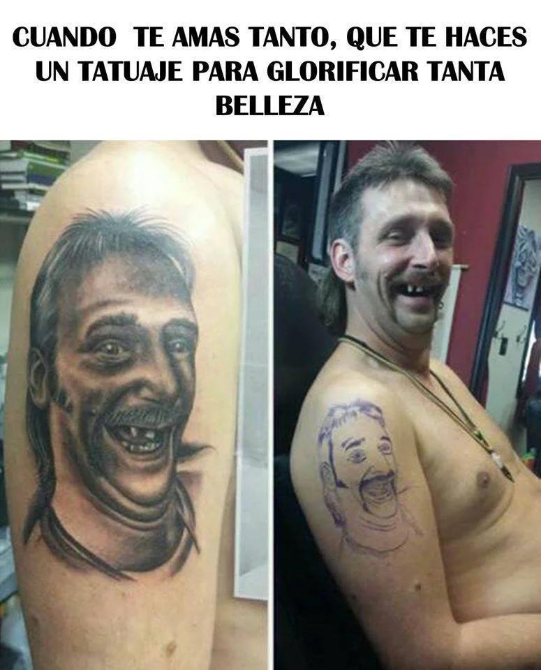 Los Tatuajes De Mama Memes De Tatuajes Memes Divertidos Memes