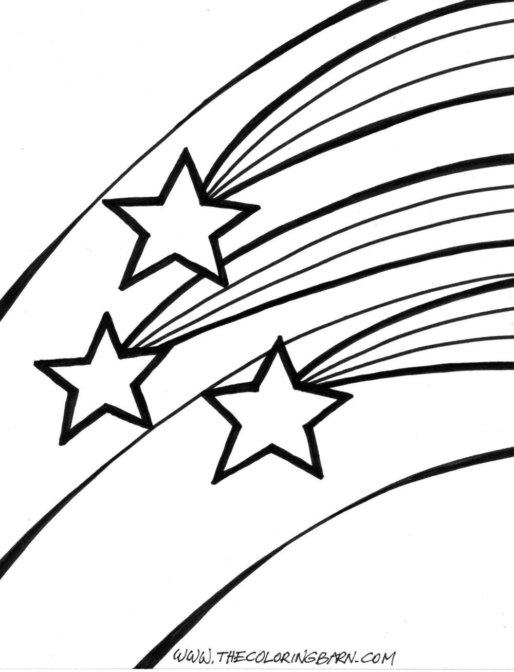 Star Coloring Pages Star Outline Coloring Pages