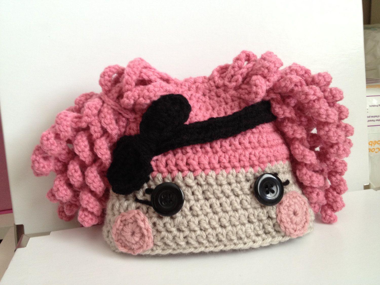 Crochet LaLa Loopsy Hat For Girls Hand by ElephantShoesKnits, $35.00