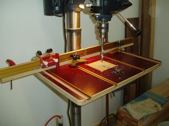 Woodnet Forums How About Some Drill Press Table Pics Drill