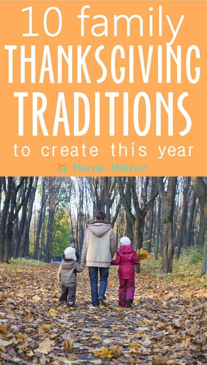 10 Fun Thanksgiving Traditions for Families - Meraki Mother