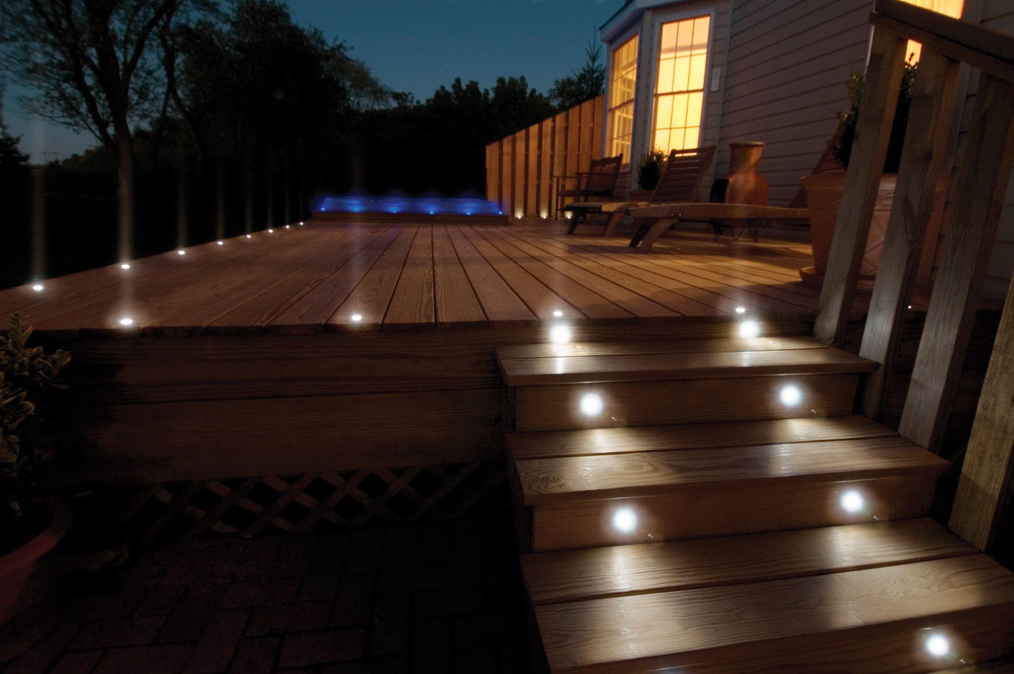 Eclairage De Terrasse Exterieur Épinglé par tendances & influence sur Éclairage piscine