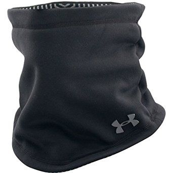 Amazon.com  Under Armour Men s Elements Neck Gaiter Black Graphite Scarf  One Size  Sports   Outdoors 21044a62333c