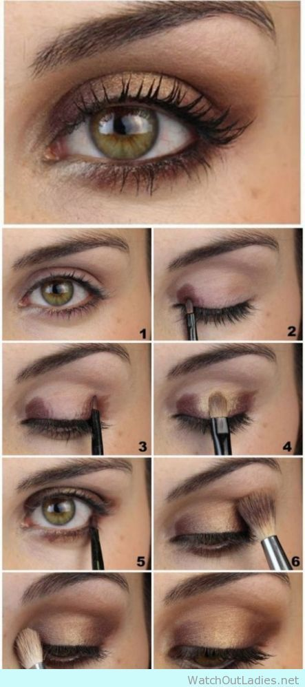 Bronze Shadow For Green Eyes Hazel Eye Makeup Brown Eye Makeup