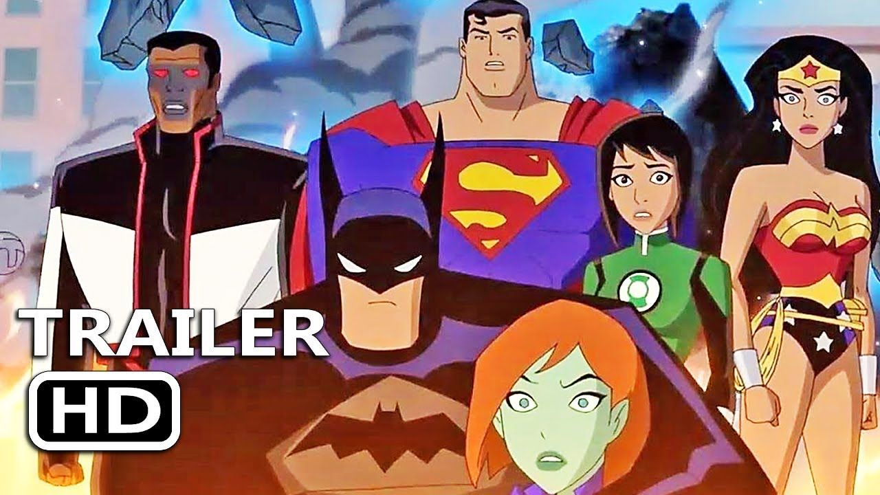 Justice League Vs The Fatal Five Official Trailer 2019 Dc Animated Superhero Movie Justice League Vs The Fatal Five Superhero Movies Justice League Animation