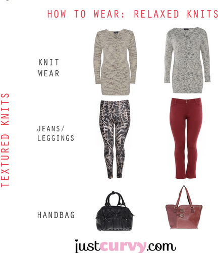 How to wear a relaxed knit #knits #warm #winter #curvy http://www.justcurvy.com/blog/2013/09/how-to-wear-relaxed-knit/