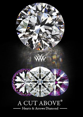Hearts and Arrows Loose Diamonds - The Most Visually Balanced Diamonds in the World available at Whiteflash.com