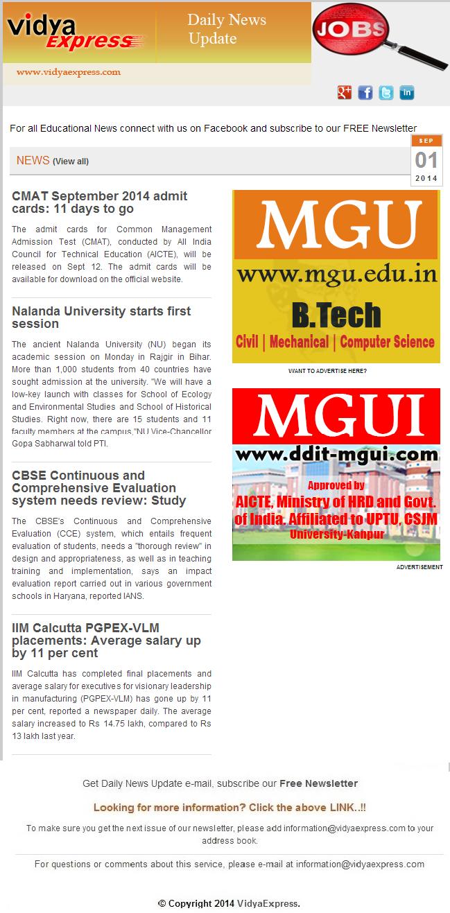 """EducationNews VidyaExpress """"Nalanda University starts"""
