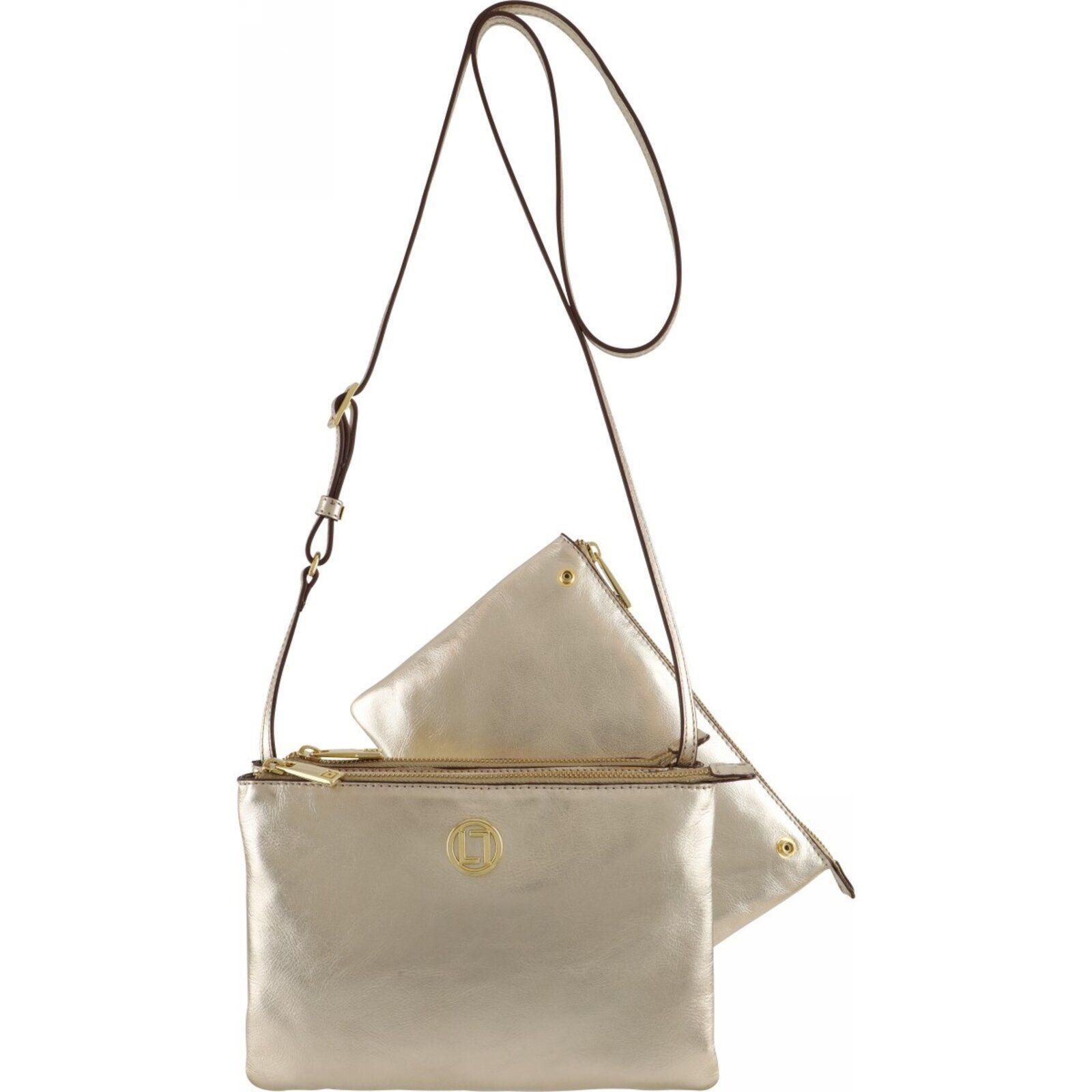 Bolsa Pequena 6416 – Laminati Ouro Luz Da Lua