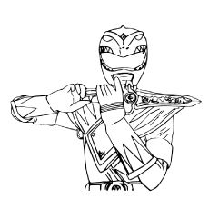 top 25 free printable mighty morphin power rangers coloring pages online power rangers party