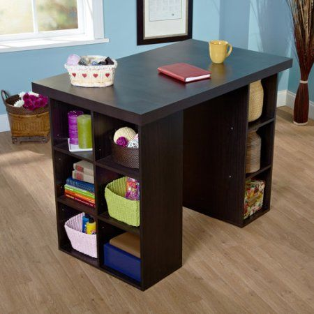 Arts Crafts Sewing Craft Tables With Storage Craft Desk Furniture
