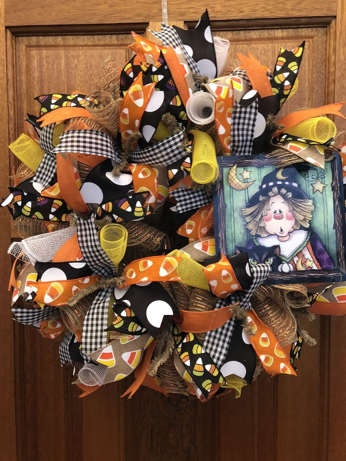 Pin by Debi Hill on Crafts Halloween deco mesh