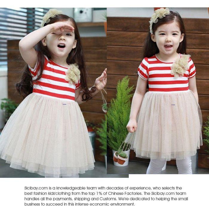 e4cbf179371ab Free Shipping Girls Princess Dress Kids Clothes Elegant TUTU Bubble ...