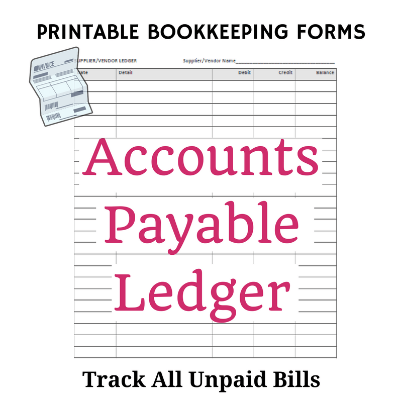 free bookkeeping forms and accounting templates business