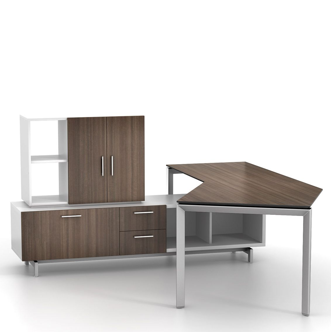 Miro Desks Include Eight Stand Alone Shapes That Can Be Configured Individually Or With Other To Create A Wide Range Of Workstation Options