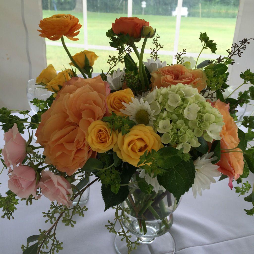 Wedding Centerpieces Ideas For Summer: Summer Wedding Flowers, Centerpiece For Vermont Wedding