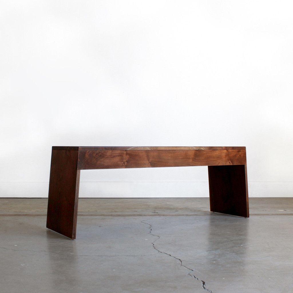 Amazing Chadhaus Chadhaus Modern Handmade Solid Wood Vollen Bench Frankydiablos Diy Chair Ideas Frankydiabloscom