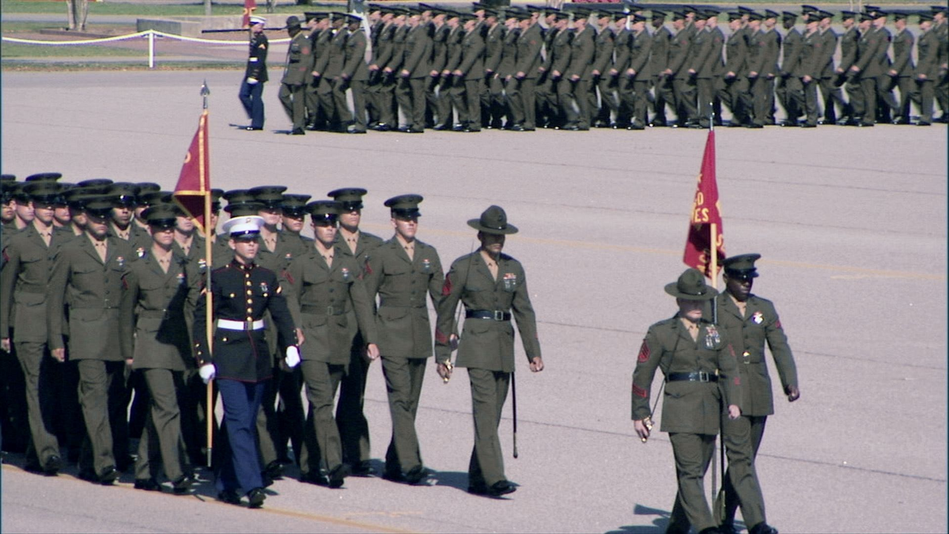 every american should see a usmc graduation..it is amazing! get to