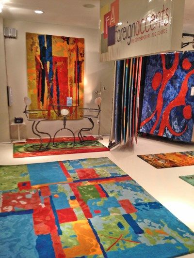 Kathleen Mooney Artist Contemporary Abstract Paintings & Surface Design - Rug Designs